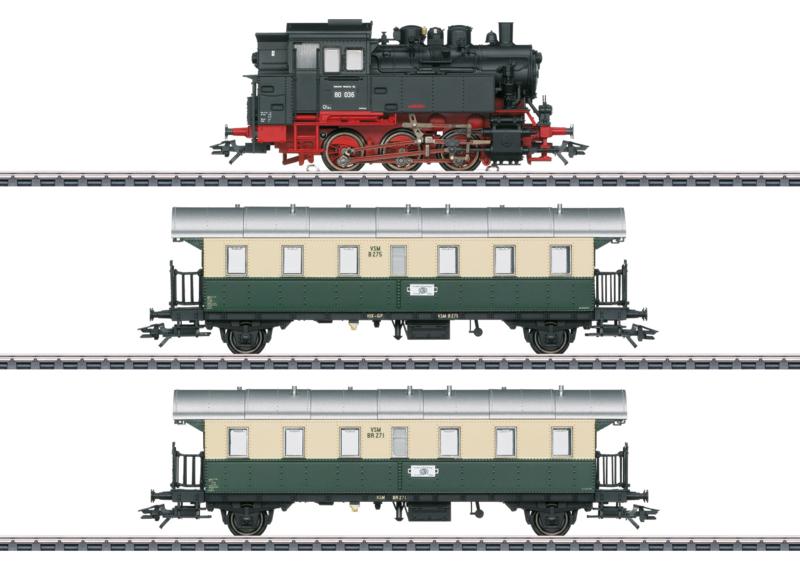 H0   Märklin 26618 - VSM, Personentrein