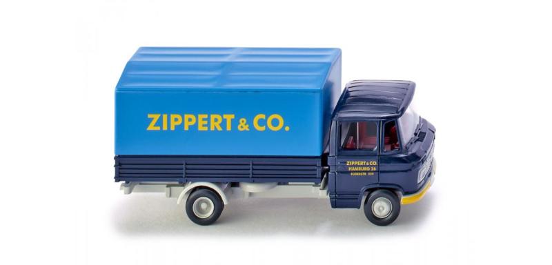 "H0 | Wiking 027101 - MB L 408 ""Spedition Zippert + Co."" (1)"