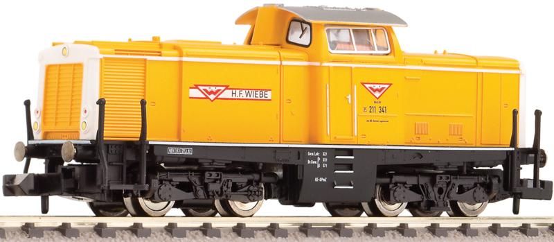 N | Fleischmann 781108 - Wiebe gruppe, Diesellocomotief V100