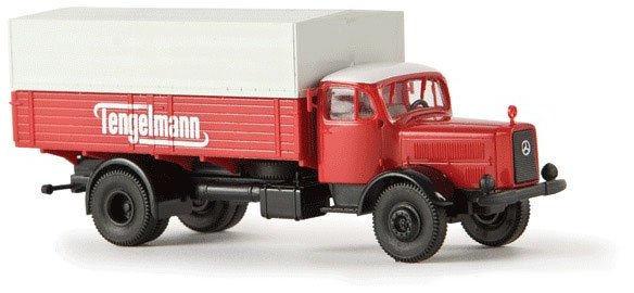 H0 | Brekina 44125 - MB L 4500 PP Tengelmann