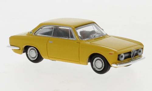 H0   Brekina 29751 - Alfa Romeo Giulia Sprint GT, donkergeel, 1974 (9)