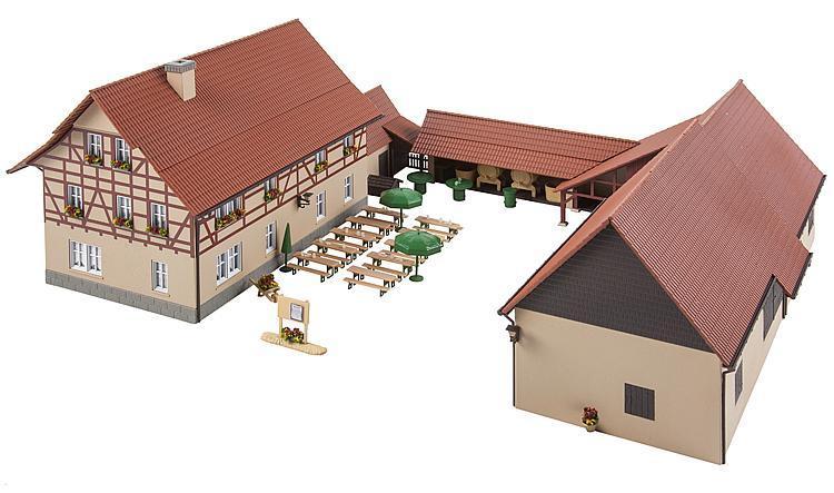 H0   Faller 191715 - Wijnmakerij restaurant
