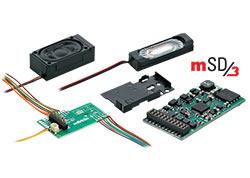 H0 | Märklin 60975 - SoundDecoder mSD3 (Stoomloc)