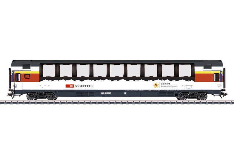 "H0 | Märklin 43652 - SBB, Personenrijtuig Apm ""Gotthard Panorama Express"""