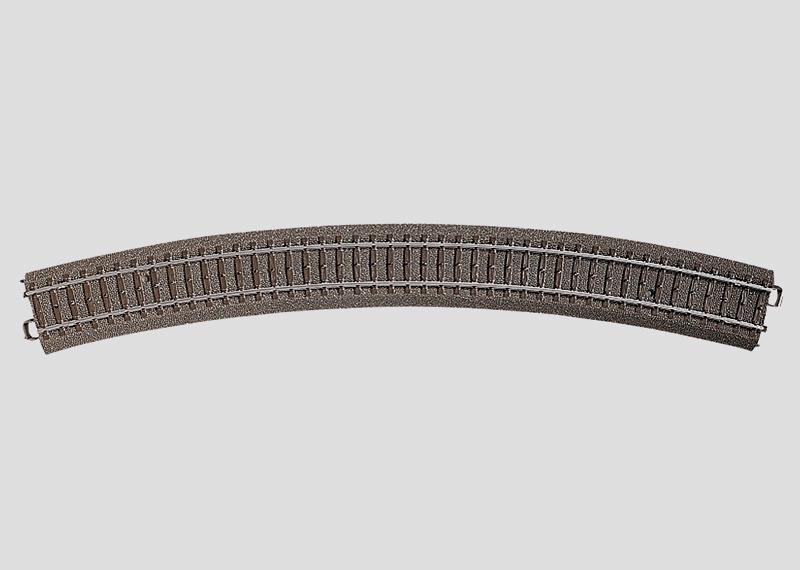 H0 | Märklin 24530 - Gebogen railstuk R643,6 mm - 30Gr (C-rail)
