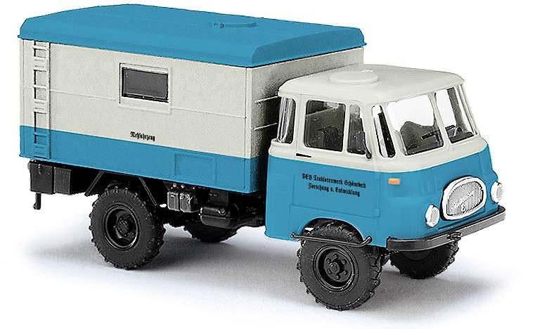 H0   Busch 51605 - Robur LO 1800 A, meetvoertuig