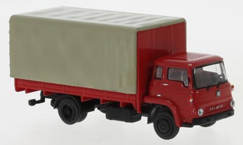 H0 | Brekina 35900 - Bedford TK PP, rood/zwart, 1971 (8)