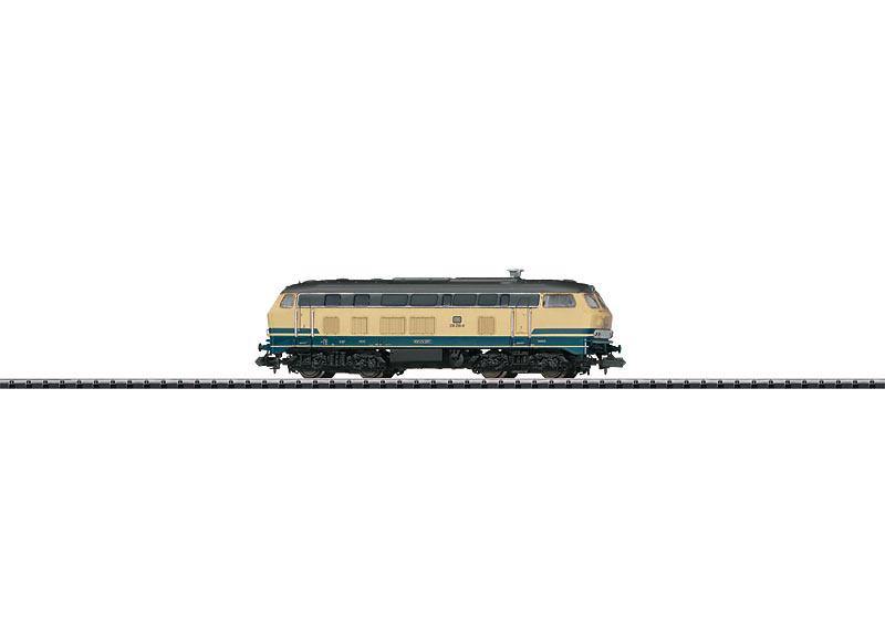N | Minitrix 16281 - DB BR 218