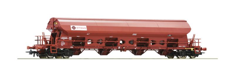 H0 | Roco 76412 - Zwenkdagwagen ERMEWA