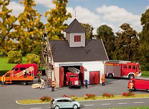 N | Faller 222208 - Kleine brandweerkazerne