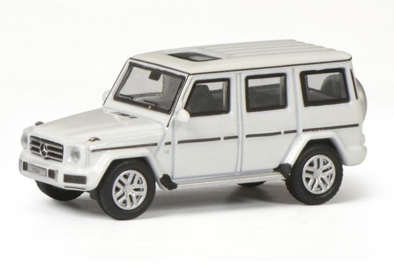 H0   Schuco 26397 - Mercedes Benz G-klasse wit