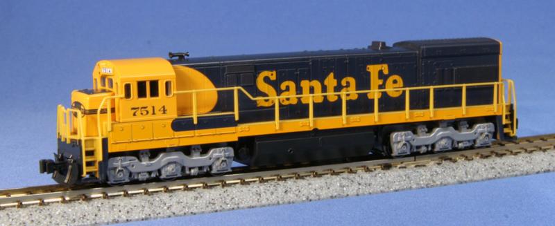 N | Kato 176-0932 - GE U23C  / Santa Fe 7514