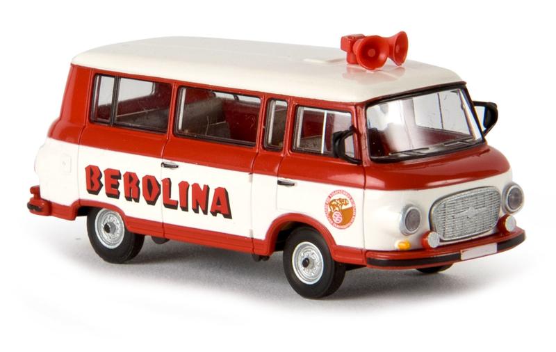 H0 | Brekina 30033 - Barkas B 1000 Berolina