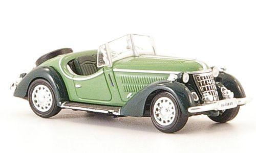 H0 | Ricko 38349 - Wanderer W25K Roadster,groen/domkergroen, 1936
