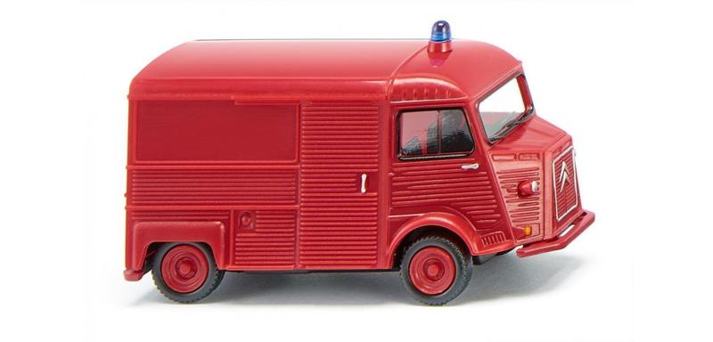 H0   Wiking 026206 - Citroën HY brandweer (1)