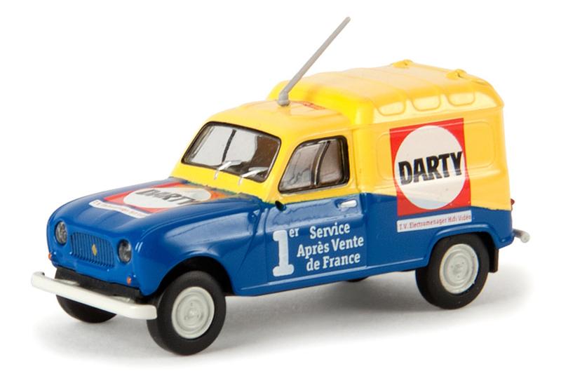 H0 | Brekina 14710 - Renault R4 Fourgonnette Darty