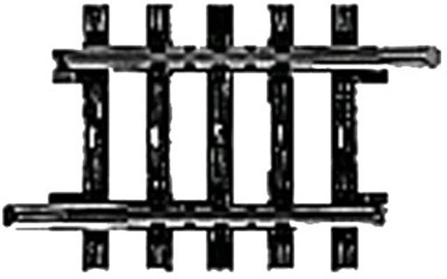 H0 | Märklin 2208 - Recht railstuk (K-rail)