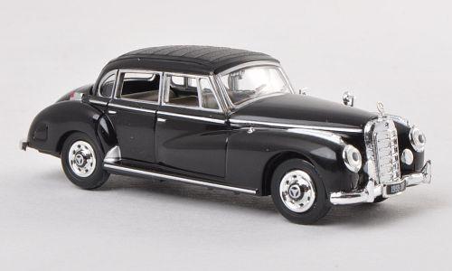 H0   Ricko 38312 - Mercedes 300c (W186),black, 1955