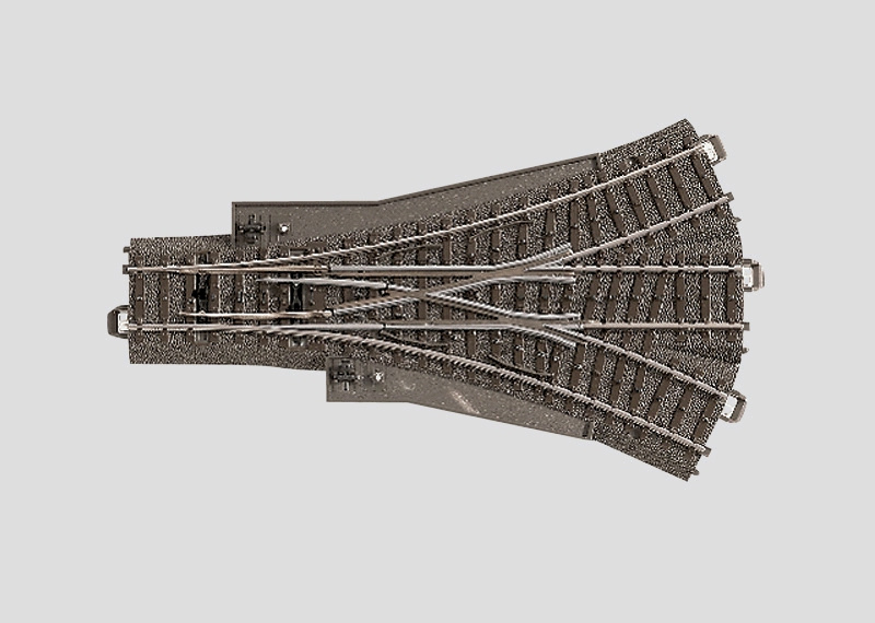 H0 | Märklin 24630 - Driewegwissel 188,3 mm - 24,3Gr (C-rail)