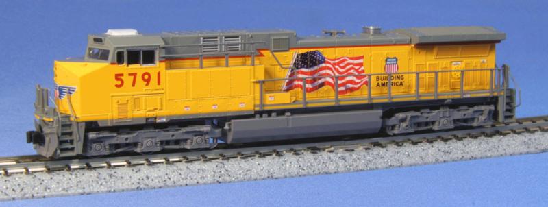 N | Kato 176-7008 - GE AC4400CW / UP 5791