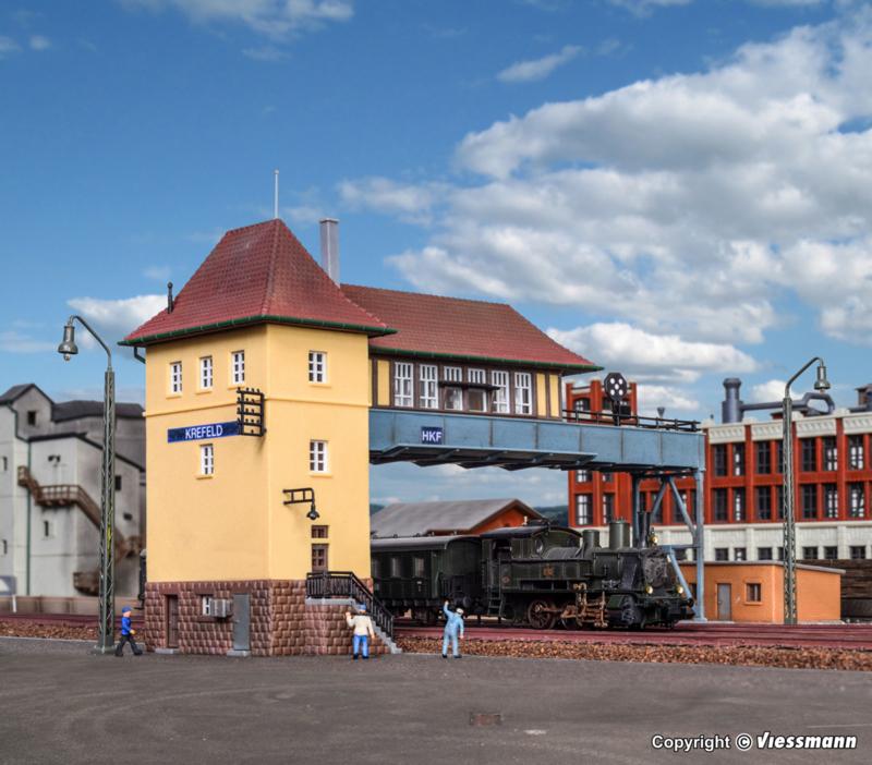 N | Kibri 37811 -Bridge signal tower Krefeld