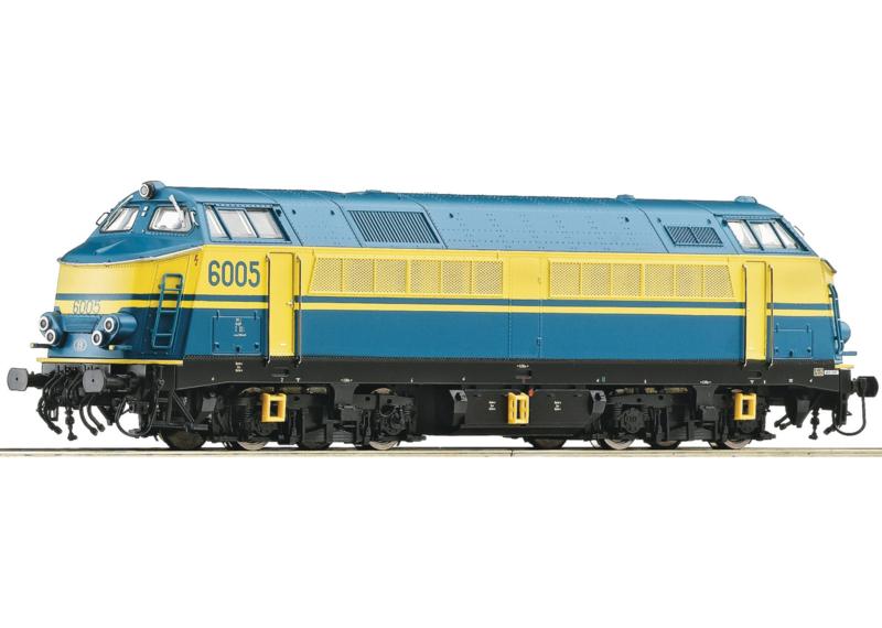 H0 | Roco 62894 - SNCB Reeks 6005 (DC sound)