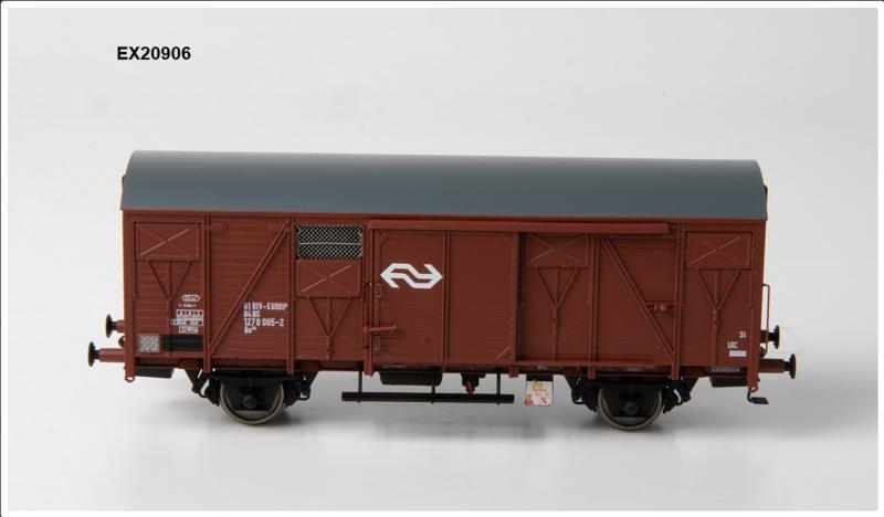 H0   Exact Train EX20906 -NS, Gs 1410 EUROP met bruine luchtroosters