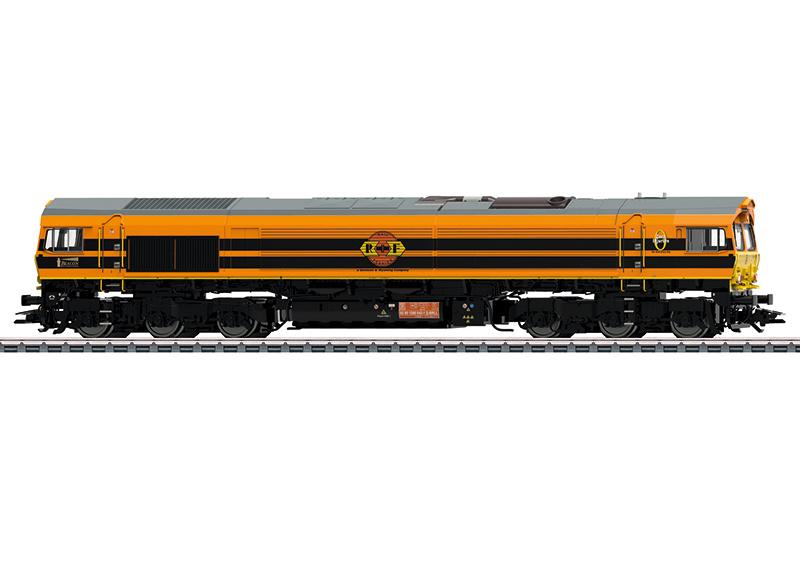 H0 | Märklin 39061 - RFF, Diesellocomotief Class 66. (AC sound)