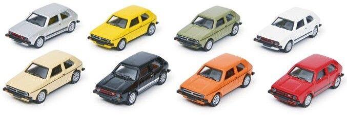 H0   Schuco 26603 -  VW Golf I (8 st.)