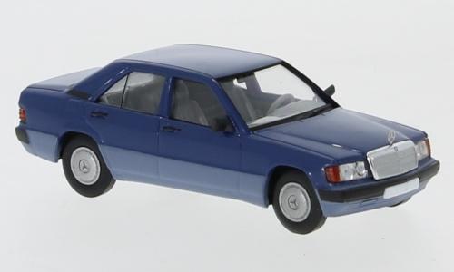 H0   Brekina Starmada 13202 - Mercedes 190E (W201), blauw, 1988,