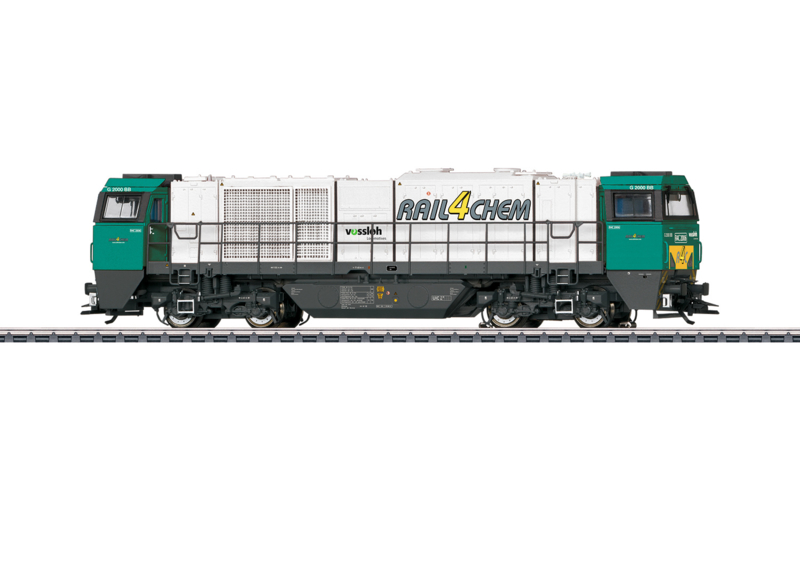 H0 | Märklin 37216 - G 2000 Rail4Chem (AC sound)