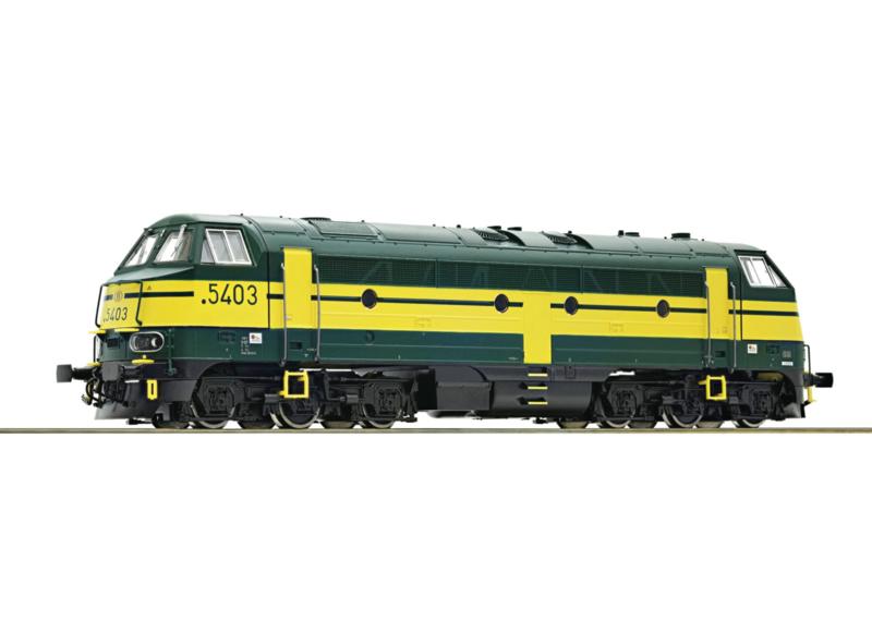 H0 | Roco 52624 - SNCB Reeks 5403 (DC sound)