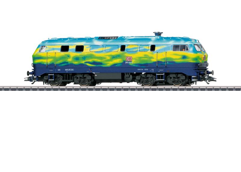 H0 | Märklin 39218 - DB BR 218 Touristik (AC sound)