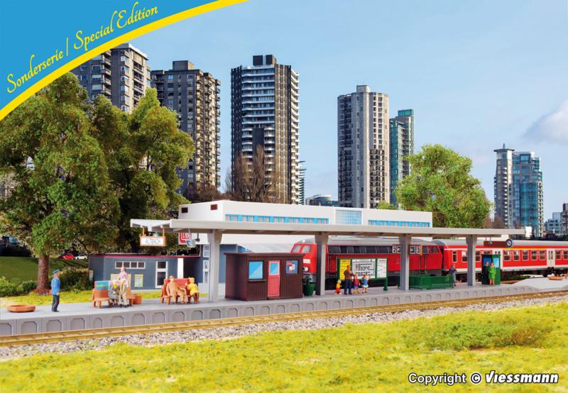H0 | Kibri 12509 - Platform Altbach