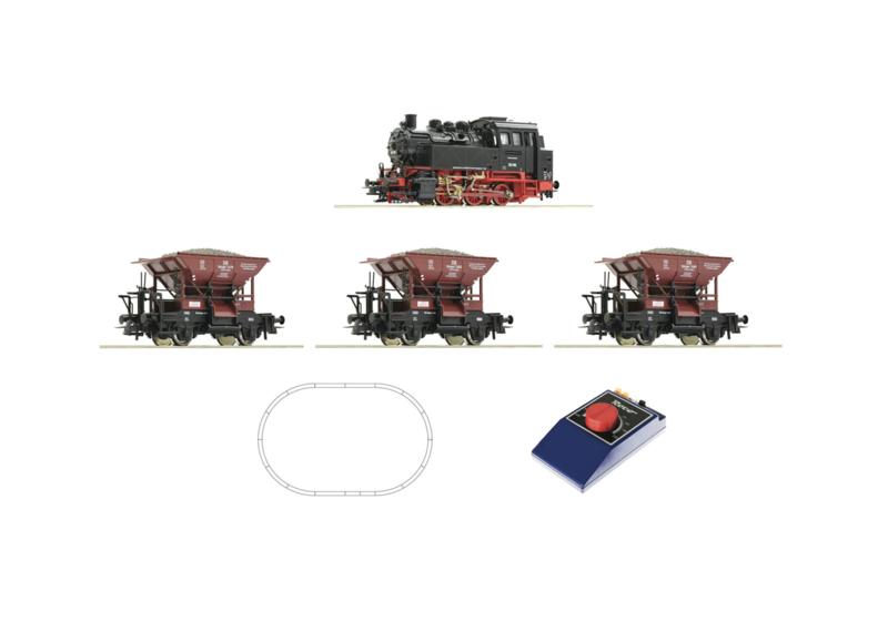 H0 | Roco 51159 - Startset BR 80 met goederentrein (DC)