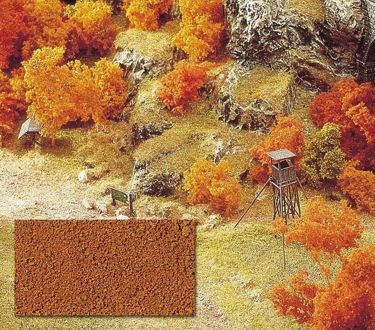 H0/N/Z   Busch 7325 - Micro-vlokken oranjebruin