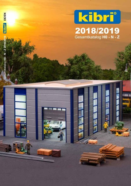 Kibri - Gesamtkatalog 2018/2019