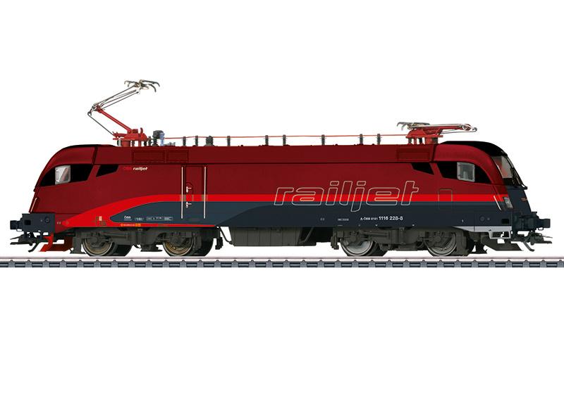 H0   Märklin 39871 - ÖBB, Elektrische locomotief serie 1116