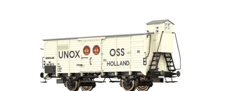 """H0   Brawa 49063 - NS, Thermische isolatiewagen G10 """"UNOX"""""""