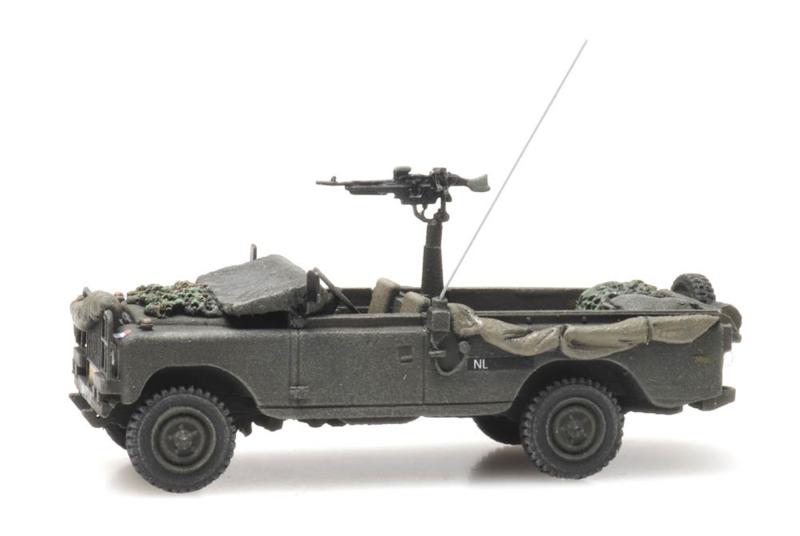 H0   Artitec 6870341 - Land Rover 109 commando