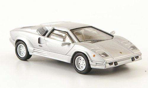 H0 | Ricko 38341 - Lamborghini Countach 25th Anniversary, zilver, 1989