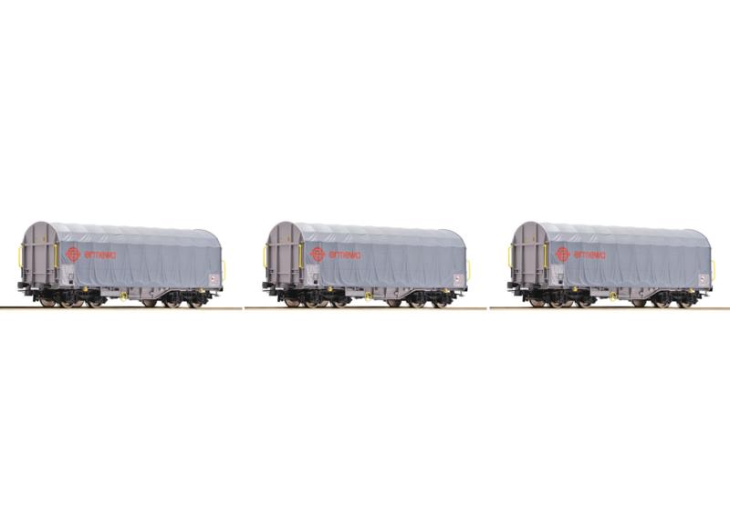 H0 | Roco 67026 - Coilwagens Ermewa