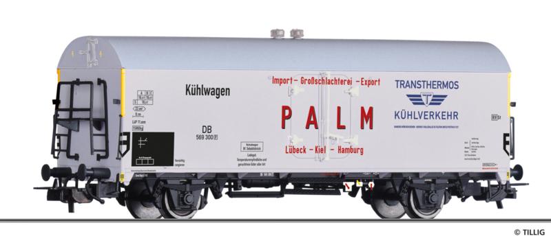 "H0 | Tillig 502148 - DB, koelwagen Thrs ""TRANSTHERMOS"" – slachterij Palm"