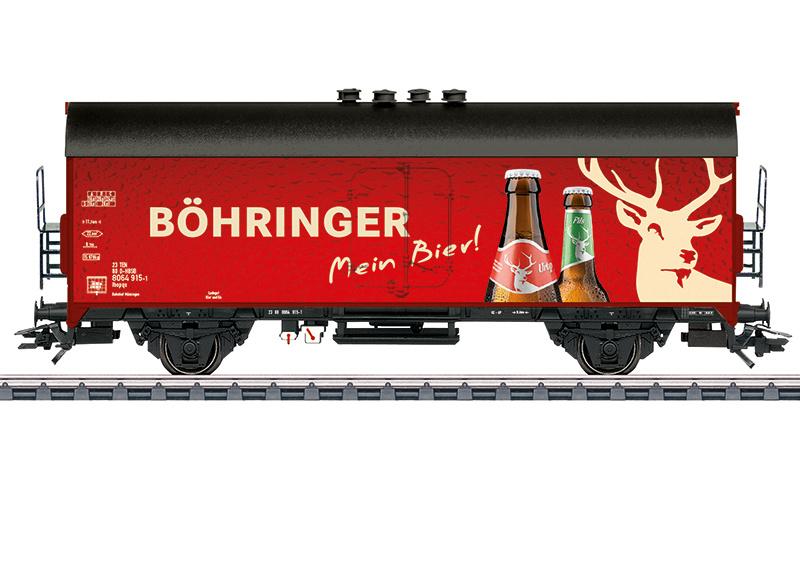 """H0   Märklin 45028 - Bierwagen """"BÖHRINGER"""""""