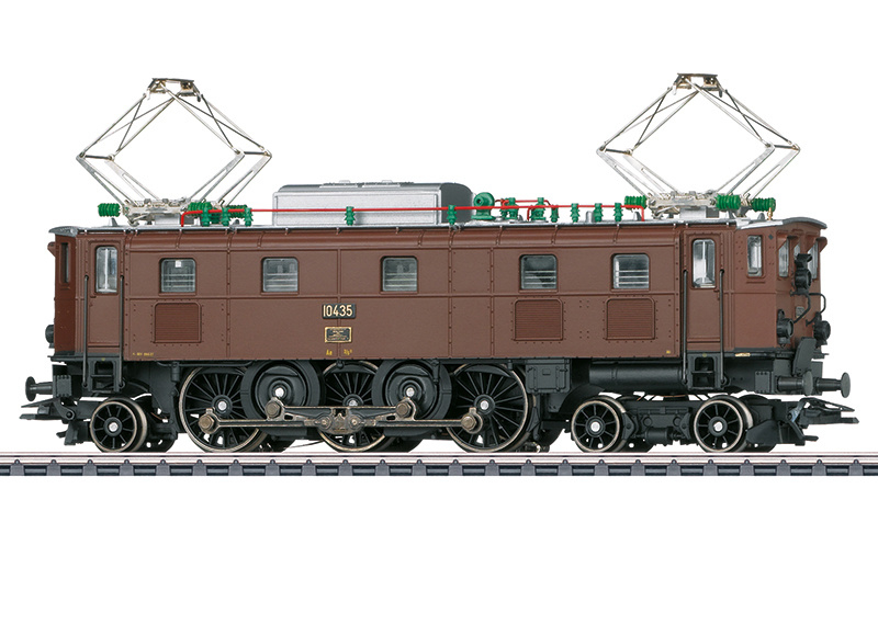 H0 | Märklin 37515 - SBB, Elektrische locomotief Ae 3/6 II
