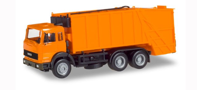 H0 | Herpa 309530 - Iveco Turbo garbage truck