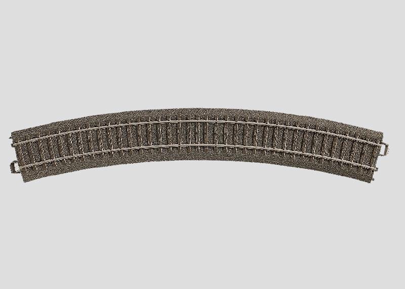 H0 | Märklin 24330 - Gebogen railstuk R515 mm - 30Gr (C-rail)