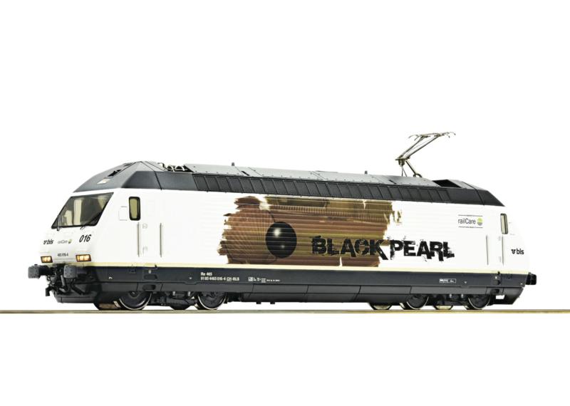 H0 | Roco 73277 - BLS 465 Black Pearl (DC sound)