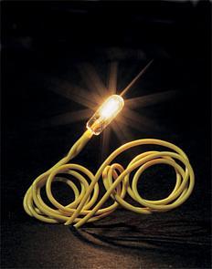 ALG | Faller 180671 - Mini draadlampje, wit