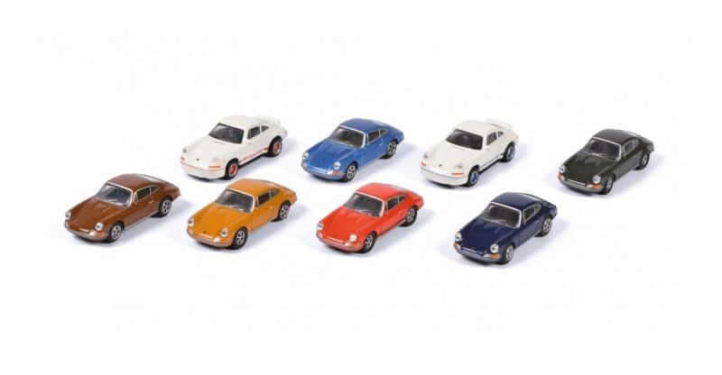 H0   Schuco 26502 - Porsche 911, set van 8